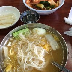 Photo taken at 망향비빔국수 by phillip j. on 6/13/2015