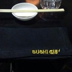 Photo taken at Sushi Giu by Alena on 5/4/2013
