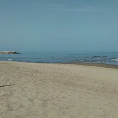 Photo taken at Spiaggia (Isola Verde) by Alena on 5/4/2013