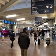 Photo taken at Station Gare Part-Dieu [T1] by Kevin K. on 11/13/2013
