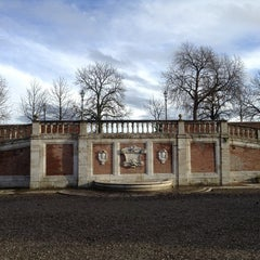 Photo taken at Fortezza Medicea by Borgo Grondaie on 4/1/2013