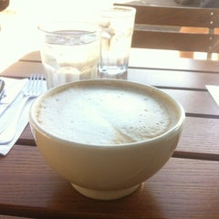 Photo taken at Le Pain Quotidien by Kitty M. on 10/19/2012
