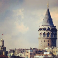 Photo taken at Galata Kulesi by Sefa Y. on 7/13/2013