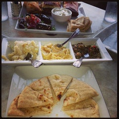 Photo taken at Ammos Authentic Greek Cuisine by Jamie H. on 8/30/2013