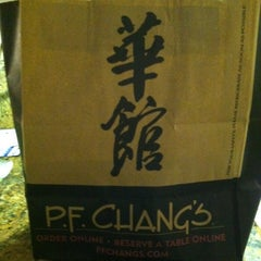 Photo taken at P.F. Chang's by Allison K. on 4/2/2013