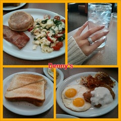Photo taken at Denny's by Bonnie E. on 2/18/2013