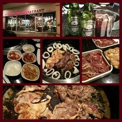 Photo taken at Korean Grill House by Bonnie E. on 12/20/2012