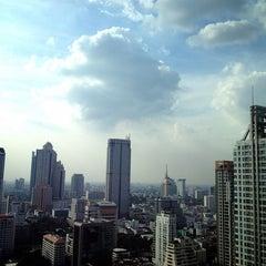 Photo taken at Ascott Sathorn Bangkok by Lek L. on 12/16/2012