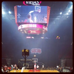 Photo taken at Viejas Arena by Jodi P. on 10/13/2012