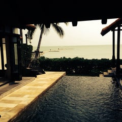 Photo taken at Le Méridien Koh Samui Resort & Spa @ Pool Bar by Myles R. on 1/23/2014