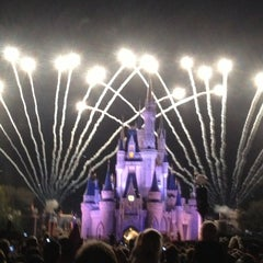Photo taken at Wishes Nighttime Spectacular by Jefferson C. on 1/21/2013