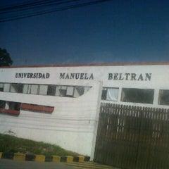 Photo taken at UNIVERSIDAD MANUELA BELTRAN - SEDE CAJICA by Paulie M. on 4/28/2013