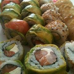 Photo taken at Niu Sushi by Pauli T. on 5/9/2013