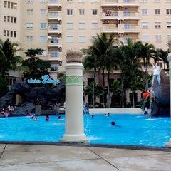 Photo taken at Waterplace Swimming Pool by Ardian 'wayan' C. on 12/29/2013