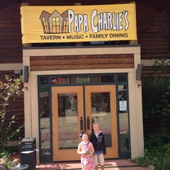 Photo taken at Papa Charlie's Saloon & Grill by Matt G. on 8/31/2014