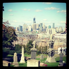 Photo taken at The Green-Wood Cemetery by sonia m. on 10/21/2012