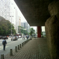 Photo taken at Museu de Arte de São Paulo (MASP) by Rachel M. on 11/3/2012