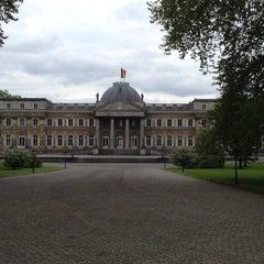 Photo taken at Koninklijk Paleis / Palais Royal by Frederick U. on 5/2/2014