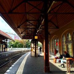 Photo taken at U Schlesisches Tor by luo h. on 9/27/2014