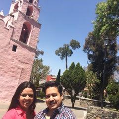 Photo taken at San Pedro Atocpan by Olgui P. on 3/8/2015