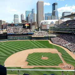 Photo taken at Target Field by Sarah C. on 6/16/2013