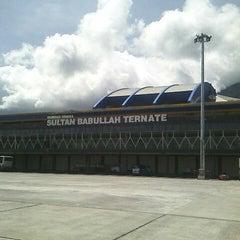 Photo taken at Bandara Sultan Babullah (TTE) by Ikhwanul H. on 1/2/2015