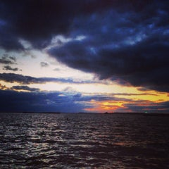 Photo taken at Lake Erie by Jerry L. on 10/28/2013