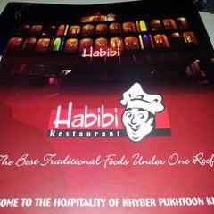 Photo taken at Habibi Restaurant by Hasham A. on 3/29/2014