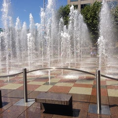 Photo taken at Crown Center by Zachary J. on 7/27/2013