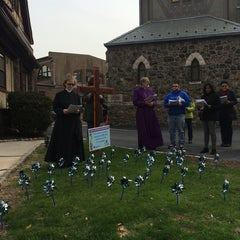 Photo taken at Christ Church by Alison C. on 4/18/2014