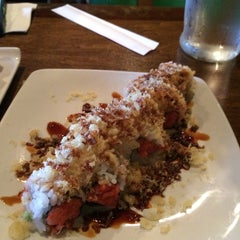Photo taken at Monstera Sushi & Noodles by Nathika S. on 5/23/2015