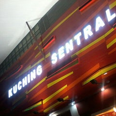 Photo taken at Kuching Sentral by Nomiday D. on 5/27/2013