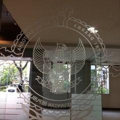 Photo taken at Badan Pemeriksa Keuangan (BPK) RI by Nur K. on 2/3/2016