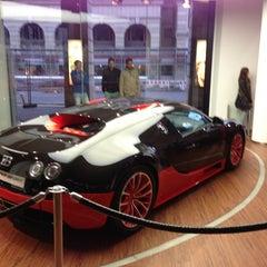 Photo taken at Bugatti   Automobil Forum Unter den Linden by Thomas D. on 9/15/2013