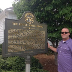 Photo taken at Roosevelt's Little White House Historic Site by Lisa L. on 8/3/2014