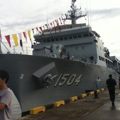 Photo taken at Royal Malaysian Navy, Sepanggar by Eka M. on 4/8/2013