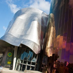 Photo taken at EMP Museum by EMP Museum on 4/20/2015