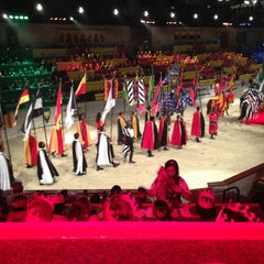 Photo taken at Medieval Times by Steven C. on 5/4/2013