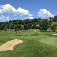 Photo taken at Newton Commonwealth Golf Course by Miles B. on 8/9/2014
