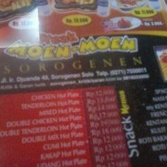 Photo taken at Steak Moen - Moen by Adin M. on 4/9/2014
