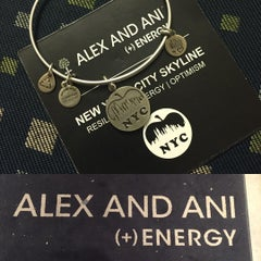 Photo taken at ALEX AND ANI Soho by She S. on 10/23/2015