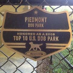 Photo taken at Piedmont Park Dog Park by Bryan H. on 4/13/2013