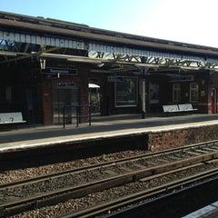 Photo taken at Basingstoke Railway Station (BSK) by Neslihan on 7/9/2013
