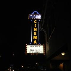 Photo taken at St. Johns Twin Cinema and Pub by Graffiti F. on 5/18/2013