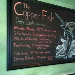 Photo taken at The Copper Fish by Jimmy J. on 8/17/2013