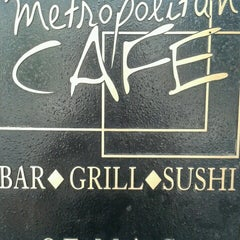 Photo taken at Metropolitan Cafe by Michelle M. on 6/25/2013