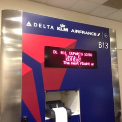 Photo taken at Concourse B by Shay T. on 11/15/2012