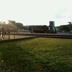 Photo taken at Pasar Malam Lapangan Kodam V Brawijaya by Intan P. on 4/27/2013