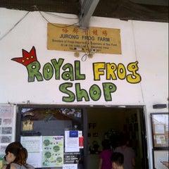 Photo taken at Jurong Frog Farm by Yu Xuan C. on 11/17/2012