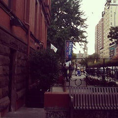 Photo taken at HI New York Hostel by Camila R. on 10/12/2012